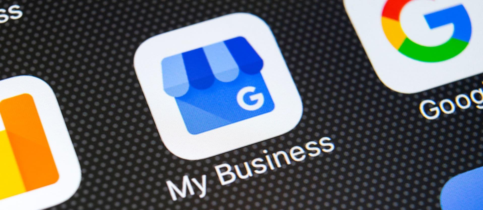 google my business vindbaarheid